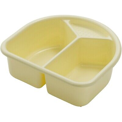 Rotho Wash Bowl With 2 Compartments - Yellow Delight New