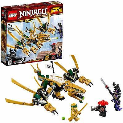 LEGO NINJAGO Golden Dragon Masters of Spinjitzu  Minifigures Overlord Katana New