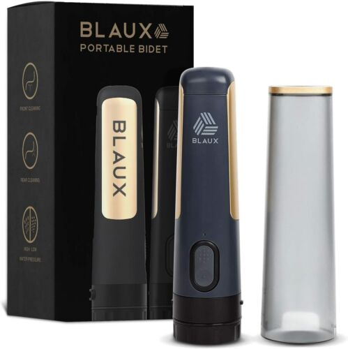 BLAUX Electric Portable Bidet Sprayer - Portable Toilet Cleaning Experience
