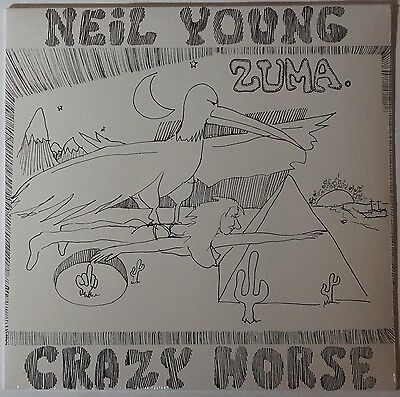 Neil Young/Crazy Horse - Zuma LP NEU/OVP/SEALED