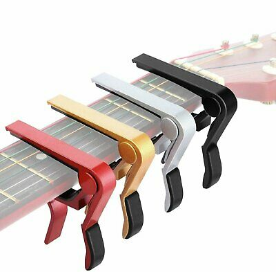 Guitar Capo Acoustic Clip Guitar String Instrument Clamp Fret  Electric Capos