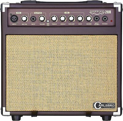 Carlsbro Sherwood 20 Acoustic Guitar Combo Amplifier Speaker