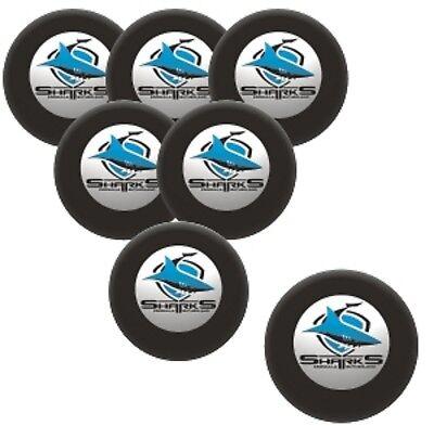 NRL Pool Snooker Billiards 7 Ball Set - Cronulla Sharks - Supporter BNWT - 7-ball-set