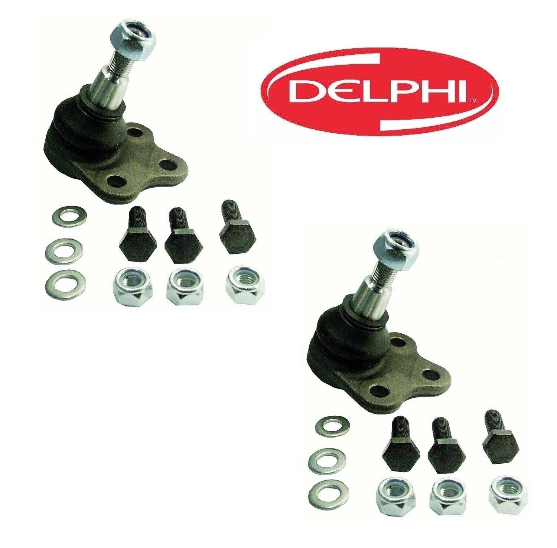 Pair Set 2 Front Lower Susp Ball Joints Delphi For Hyundai Sonata Kia Optima