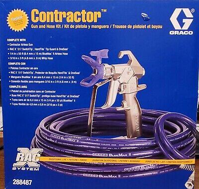 Genuine Graco Rac X Contractor Gun And Hose Kit