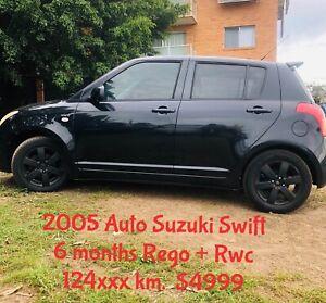 Suzuki swift low mileage 6 months Rego and Roadworthy