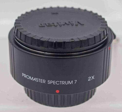 Promaster 2x AF Tele-Converter Pentax KAF Mount For DSLR Cameras