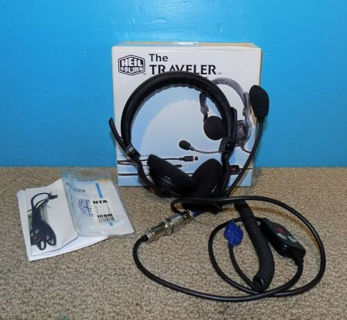 Heil Sound The Traveler Dual Boomset Headset w/ PTT for HT