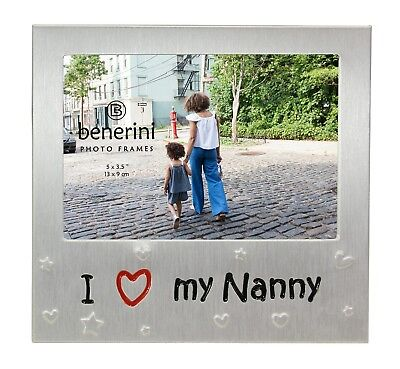 I Love My Nanny Photo Picture Frame Mothers Day Gifts Birthdays Christmas Nan  Christmas Photo Picture Frame