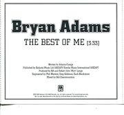 Bryan Adams The Best of Me