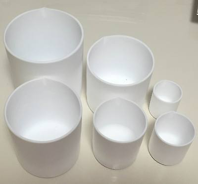 Set Of Ptfe Teflon Beaker501002003005001000ml For Chemistry Biology Lab