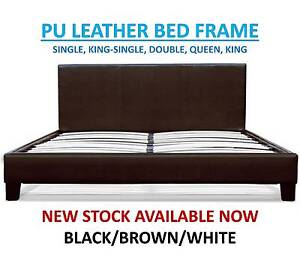 Brand New PU Leather Beds ALL SIZES – FREE DELIVERY Brisbane City Brisbane North West Preview