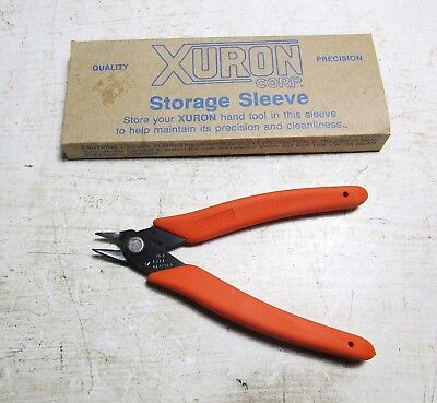 XURON 90105 3-SA TWEEZERS STRAIGHT TIPS STAINLESS STEEL    A1J