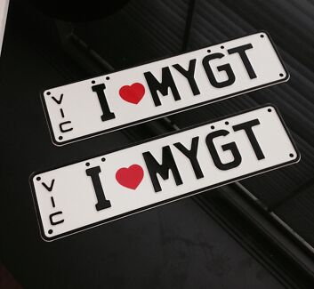 MYGT number plates - collectors item  Elwood Port Phillip Preview