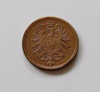 KAISERREICH: 2 Pfennig 1875 A, J. 2, stempelglanz !!!