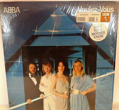ABBA VOULEZ VOUS 1979 - Vinyl LP Atlantic Records DOES YOUR MOTHER KNOW