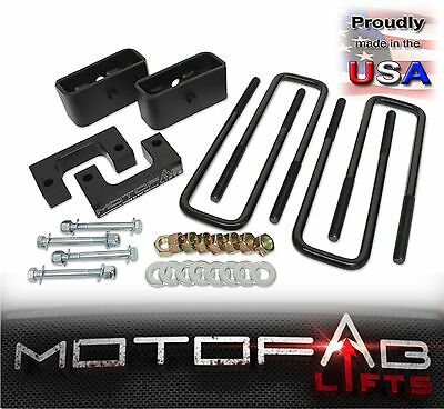 """2"""" Front and 1"""" Rear Leveling lift kit for 2007-2018 Chevy Silverado Sierra GMC"""