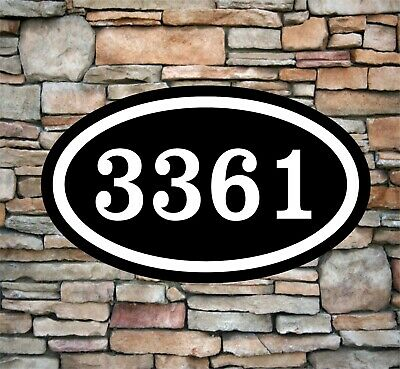 Personalized Home Address Sign Aluminum 12