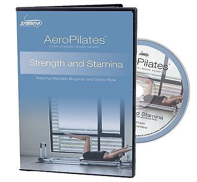 AeroPilates Strength and Stamina Workout DVD 05-9133D