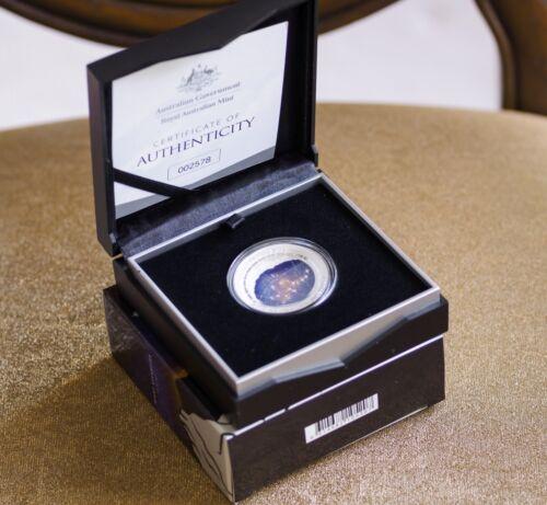 2016 Australia Silver Proof $5 Color Domed Northern Sky Ursa Major Coin