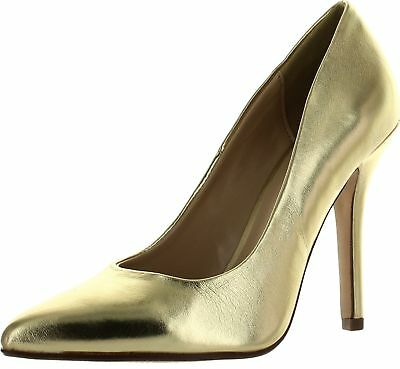 Gold Heels (Womens Metallic Colored Heels Available in Gold and Silver)