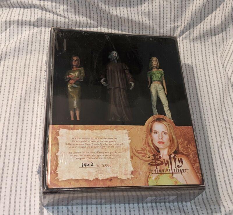 NIB Diamond Select Toys Buffy Vampire Slayer Figure Set BOOK OF VENGEANCE LE