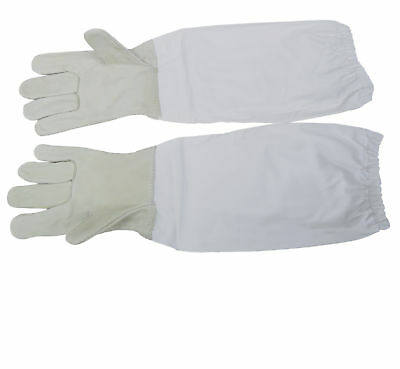 Large L Beekeeping Gloves Leather Bee Keeping W Sleeves From Vivo Bee-v103l