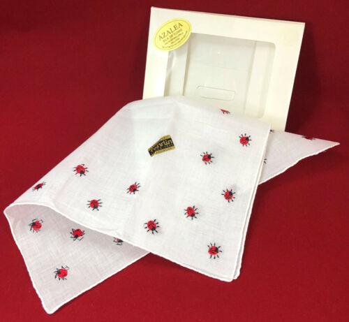 Handarbeit Fehrlin Handwork Lady Bug Handkerchief