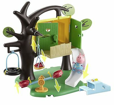 - Peppa Pig Toy Tree House Playset Bundle Including Peppa Figure NEW BOXED