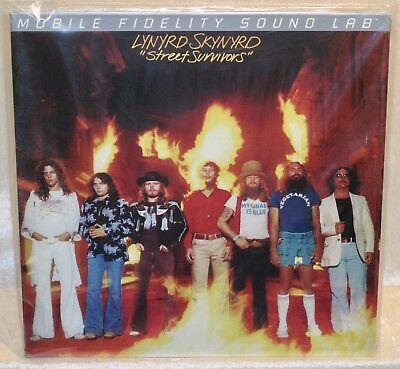 Lynyrd Skynyrd  Street Survivors   180G  Mobile Fidelity  Vinyl Lp 2012