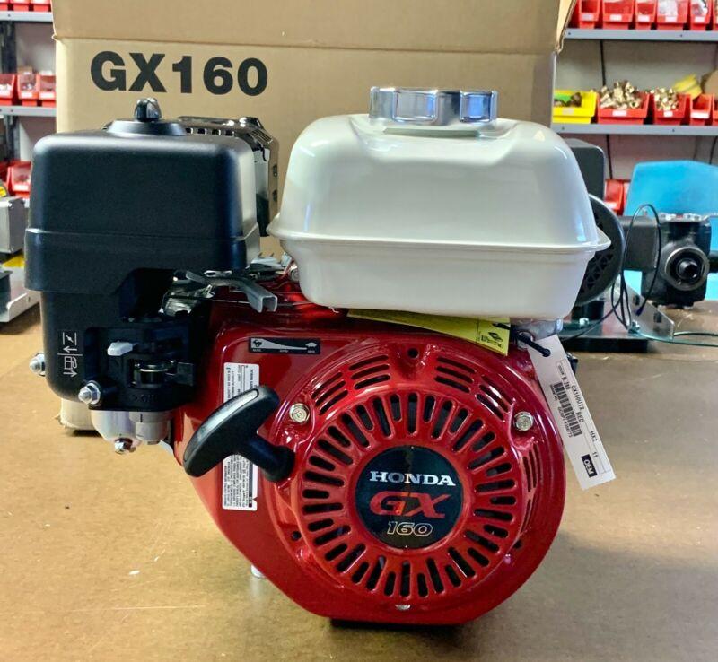 Honda Engine GX160UT2HX2 Horizontal OVH Engine 160 cc 4.8HP 6:1 Gear Reduction