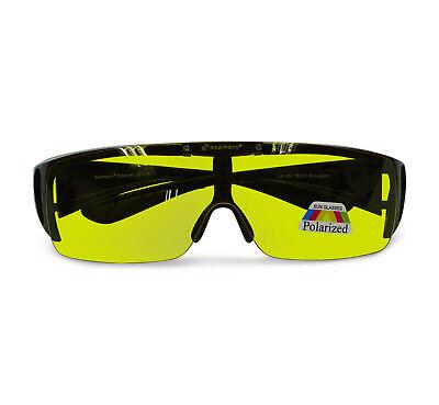 Saulmann® Polarisierte Flip-Up Blendschutz Brille Autofahren Nachtfahrbrille 👓