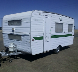 Coronet 5 berth original 16ft caravan,bunks, nothing to do
