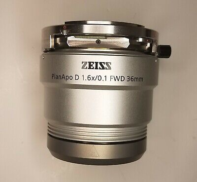 Zeiss Planapo 1.6x Objective For Smart Zoom Microscope