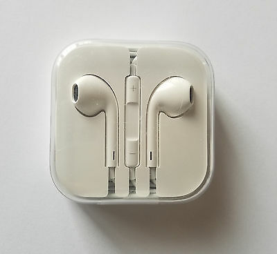 Original Apple EarPods Earphones with Remote and Mic - MD827LL/A -USED & WORKING
