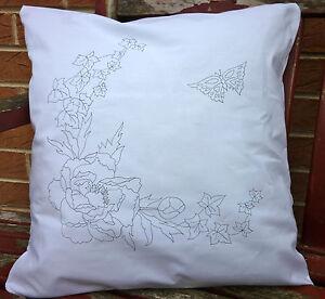 Embroidery Cushion Kit Ebay
