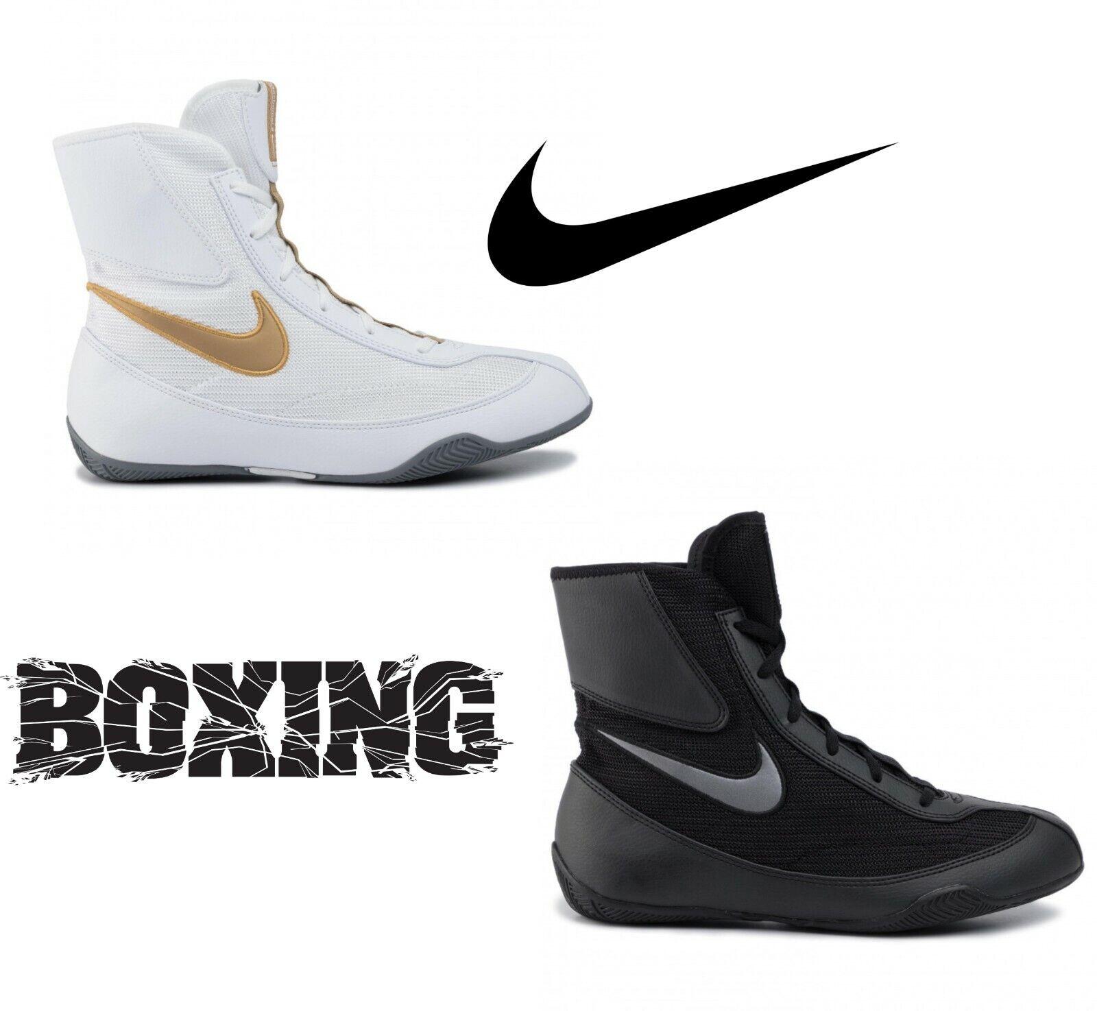 как выглядит Nike Machomai 2 Boxing Shoes Boxing Boots Training Ring Shoe фото