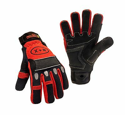 TechTrade Protech 8 X+R Firefighter Extrication Rescue Gloves- Multiple - Firefighter Coloring