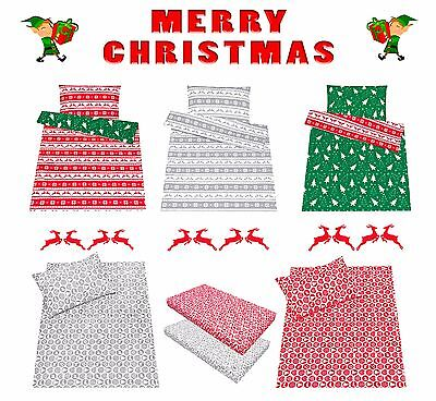(Christmas Nordic baby toddler crib cot /cot bed bedding set  duvet cover/ sheet )