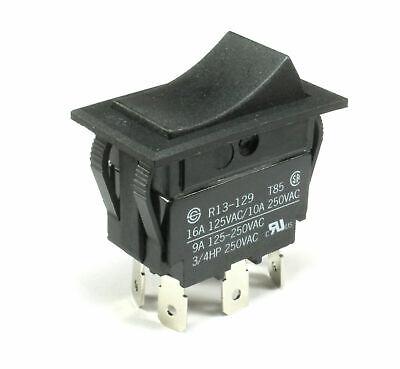 Sci Rocker Switch 6-pins 16a125vac 10a250vac 3 Position Onoffon Dpdt