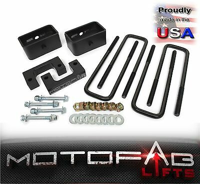 """2"""" Front and 2"""" Rear Leveling lift kit for 2007-2018 Chevy Silverado Sierra GMC"""