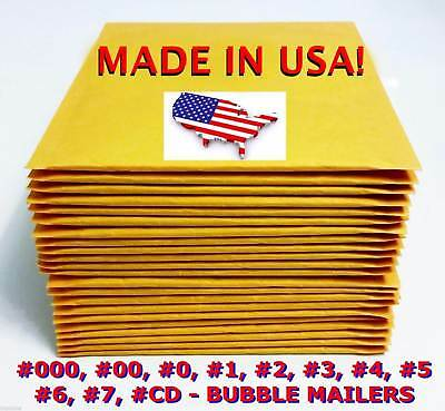 Wholesale Bubble Mailers Padded Envelopes 0 1 2 3 4 5 6 7 00 000 - Usa