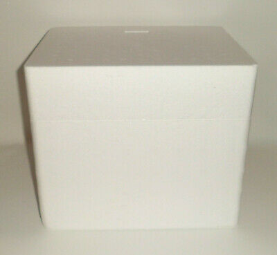 Styrofoam Polystyrene Insulated Cooler Ice Chest Box 13 X 10.75 X 11 Shipping