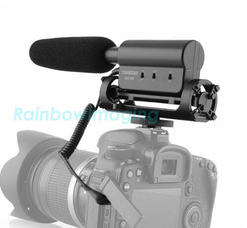 Takstar SGC 598 Photography Interview On-Camera Recording Microphone DSLR Camera