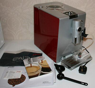 JURA ENA 7 Coffee Machine Cappucino/Espresso - 2 cups Bean-to-Cup Cherry Red
