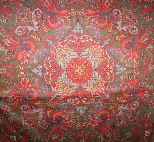 1 Yard RALPH LAUREN Paisley GALAHAD Medieval Collection Drapery Fabric BTY