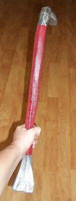 Half Life Crowbar Prop For Gordon Freeman Costume Lightweight Blown Plastic Red - $25.00