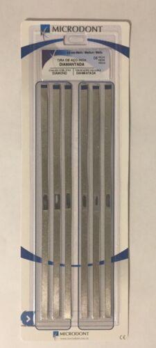 Microdont USA Diamond Finishing S. Steel Strips Medium Open Center 4/150mm 6Box