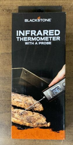Blackstone Infrared Thermometer with Probe Attachment Blackstone, Large LCD NEW