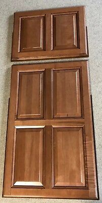 RV MOTORHOME CAMPER BUS REFRIGERATOR FREEZER DOOR PANEL COVER WOOD  PANEL
